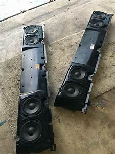 Bmw E38 Rear Deck Subwoofer Replacement For Package Shelf