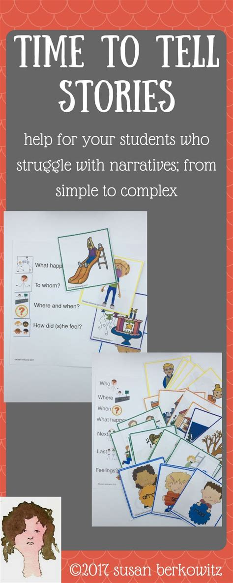 Time For Story Telling Skills And Narrative Development Picture Cards  Calling All Slps! Share