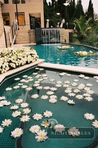 best 25 pool wedding decorations ideas on pool wedding floating candles for pool