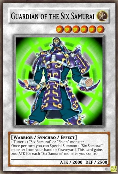 Six Samurai Structure Deck List by Guardian Of The Six Samurai Yu Gi Oh Card Maker Wiki