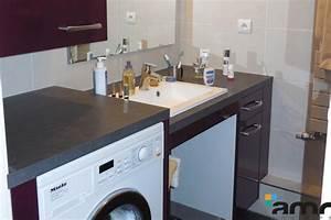Lave Linge Dans Salle De Bain : machine a laver dans salle de bain maison design ~ Preciouscoupons.com Idées de Décoration