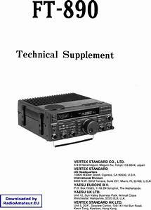 Yaesu Ft 890 Service Manual