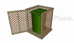 Wooden Trash Can Plans Free - WoodWorking Projects & Plans