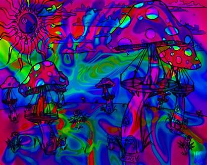 Trippy Shroom Backgrounds Animated Shrooms Gifs Wallpapersafari
