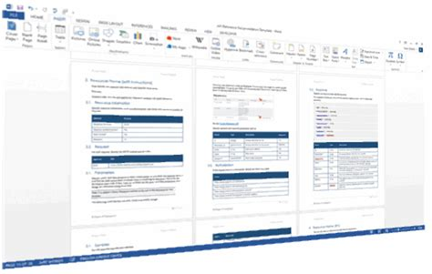 Restweb Api Documentation Template (ms Word) Technical