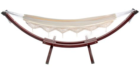 free standing hammock large beige canvas hammock with