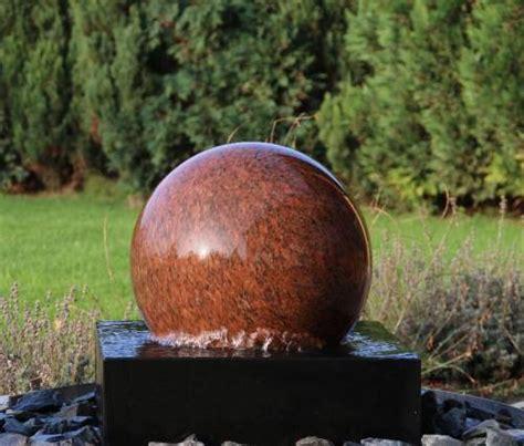 Kugelbrunnen,schwimmende Kugel,granit,glas