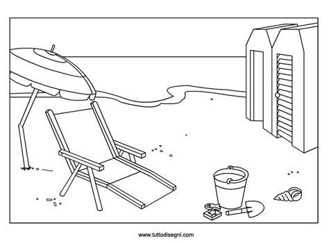 spiaggia disegni estate colorati immagini estate da colorare disegni da colorare e da