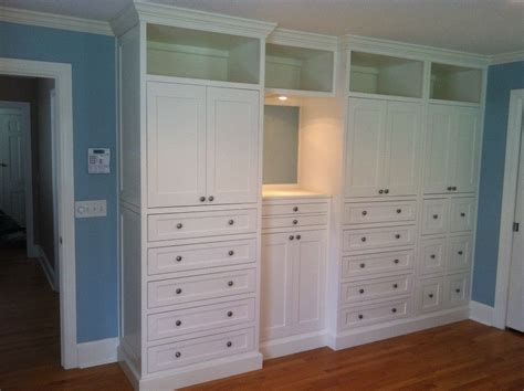 Hand Made Master Bedroom Builtin By Borders Woodworks