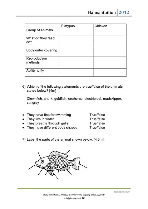 pp primary science quiz classification  life cycles