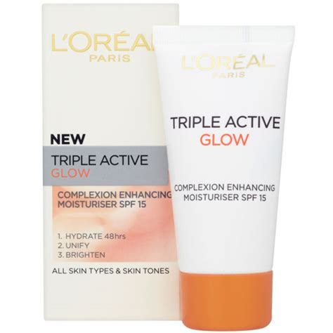 loreal paris dermo expertise triple active glow complexion enhancing