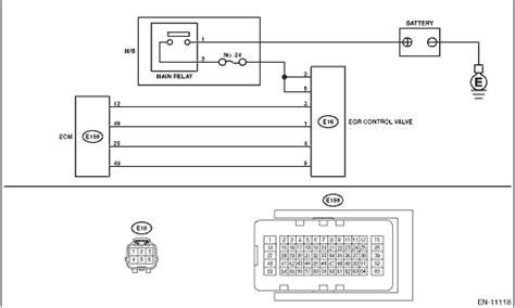 subaru legacy service manual dtc p1498 coil 4 egr quot a quot control circuit low diagnostic