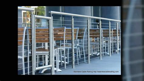 cable railings cost stainless steel railing system very sexy with cable railing hyatt project cost 8500 youtube