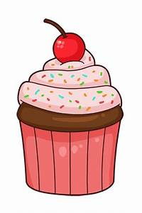 Vanilla cupcakes clipart free clipart images - dbclipart ...