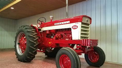 1962 Farmall 560 Diesel With Turbo  S119  Davenport 2017
