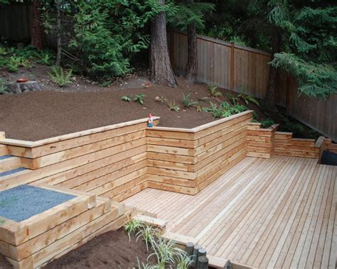 timber retaining wall design retaining walls c k farrell contractors auckland