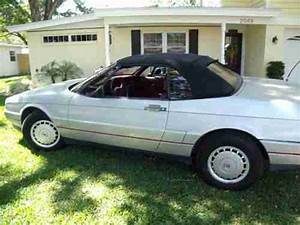 Sell Used 1987 Cadillac Allante In Clearwater  Florida  United States