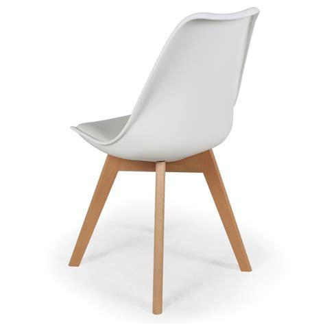 chaises blanches pas cher chaise scandinave pas cher maison design sphena com