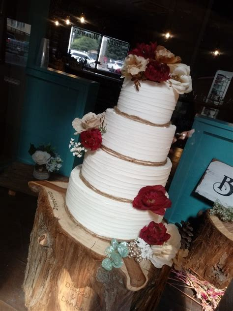 fall wedding cake atediblememories  clark ave ste