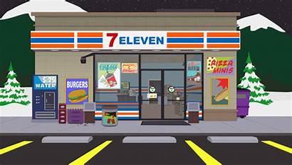 Convenience Park South 711 Clipart Shops Games