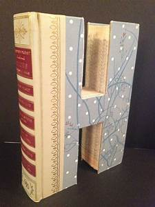 reader39s digest letter quothquot alphabet book handmade With books cut out into letters