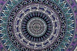Mandala Tapestry Wall Hanging, Bohemian Wall Decor, Indian
