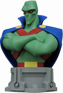 Martian Manhunter Bust - Justice League Animated Series ...