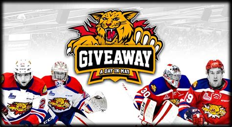 Giveaway A Day In May  Week One Winners!  Moncton Wildcats