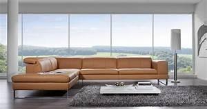 Chaise Longue 2 Places : canap 3 places avec chaise longue bjbent en cuir ~ Teatrodelosmanantiales.com Idées de Décoration