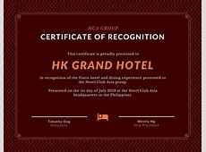 Customize 534+ Award Certificate templates online Canva