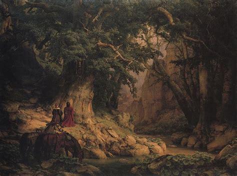 Romantik Und Moderne by Carl Friedrich Lessing Die Tausendj 228 Hrige Eiche 1837