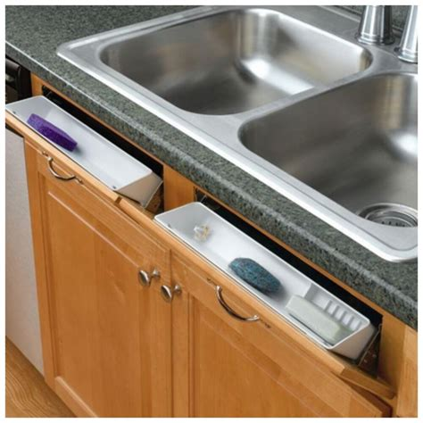 Kitchen Cabinet Storage Organizers Uk by Rev A Shelf Kitchen Sink Front Tray Tip Out Hinges Cabinet