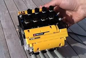 Mini V8 Motor : this mini v8 engine has been build using lego and works ~ Jslefanu.com Haus und Dekorationen