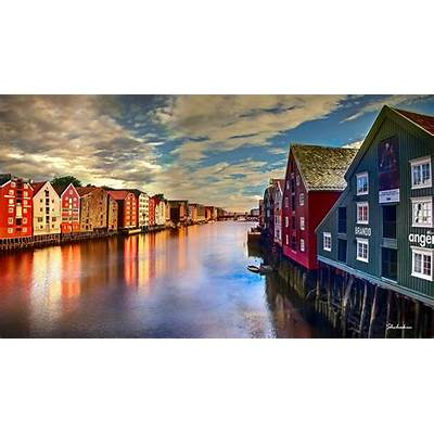 A Day in Trondheim Norway