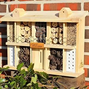 Insektenhotel Selber Bauen Anleitung : luxus insektenhotel vogel und naturschutzprodukte einfach online kaufen ~ Michelbontemps.com Haus und Dekorationen