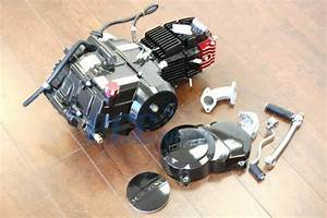 Lifan 125cc Motor Engine W   Dress Up Kit Chinese Pit Dirt