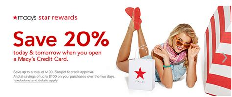 We did not find results for: Macy's American Express Card 20% savings Bonus