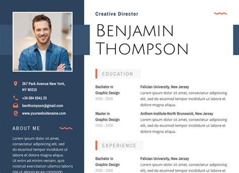 creative resumecv templates printable