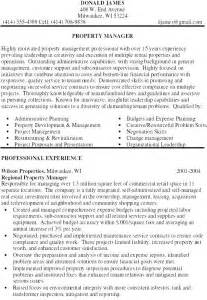 property management resumes free property manager resume exle free sles exles format resume curruculum vitae