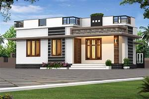725, Sq, Ft, 2bhk, Modern, Single, Floor, House, And, Free, Plan