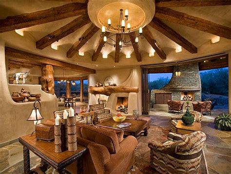 houses  circular interior style