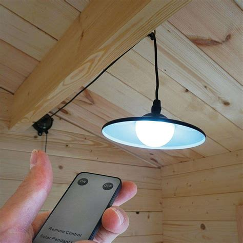 zennox solar shed light with remote clifford