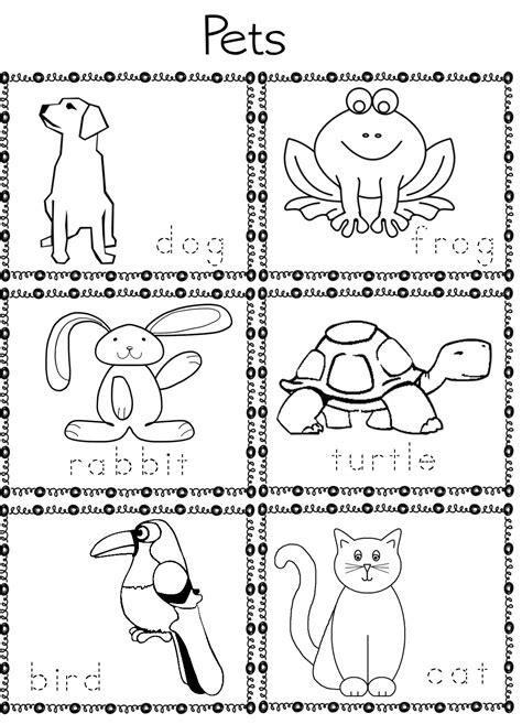 eslefl preschool teachers pet activities  preschool ell