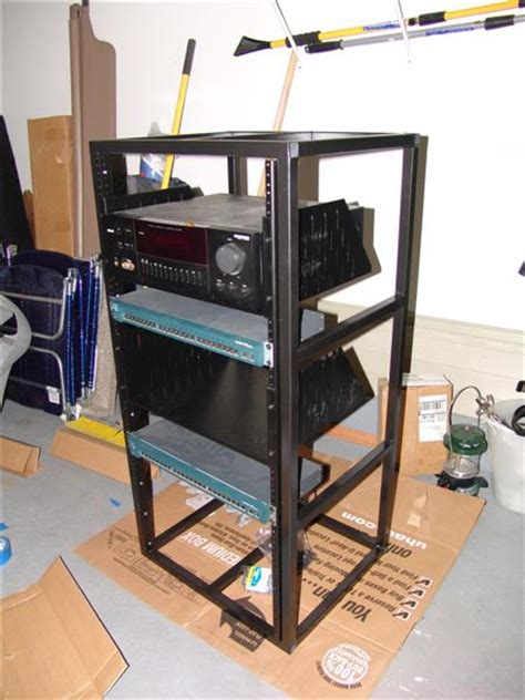 diy server rack diy a v rack avs forum home theater discussions and