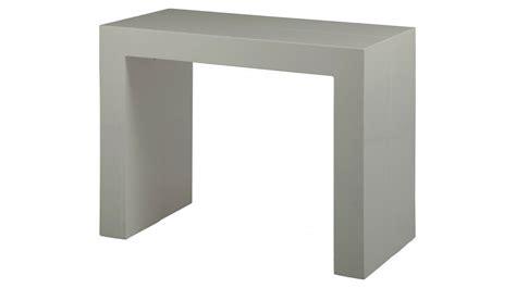 chaise bureau grise console extensible grise l200 cm console design