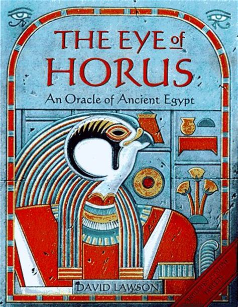eye  horus  oracle  ancient egypt  david lawson reviews discussion bookclubs lists
