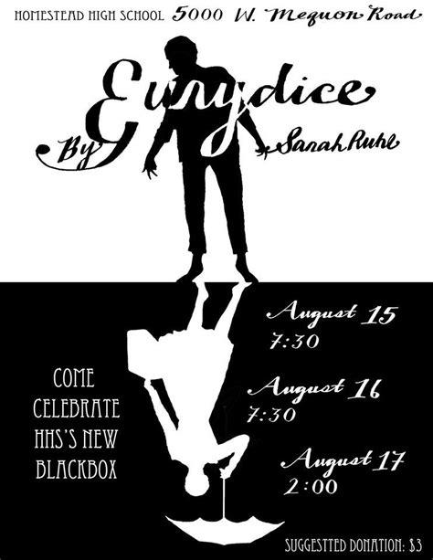 Eurydice by Sarah Ruhl. Homestead High School.   Theatre