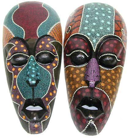 pin  ken parks  masks tribal art mask painting art