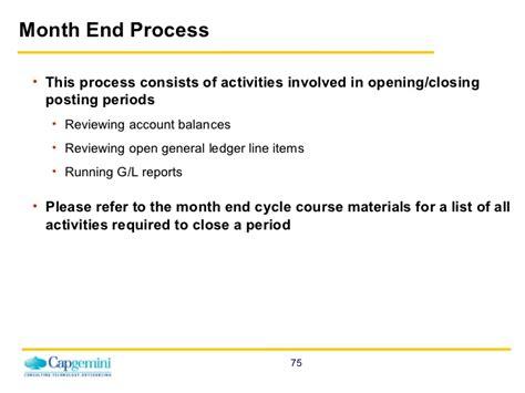 General Ledger Process Resume by Sap Fico General Ledger Enduser Www Sapdocs Info