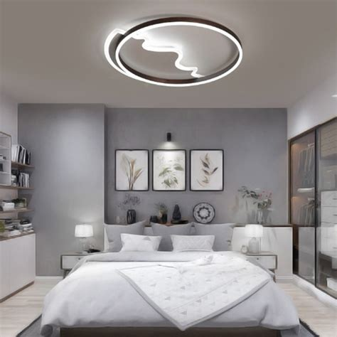 simple modern creative personality bedroom warm romantic